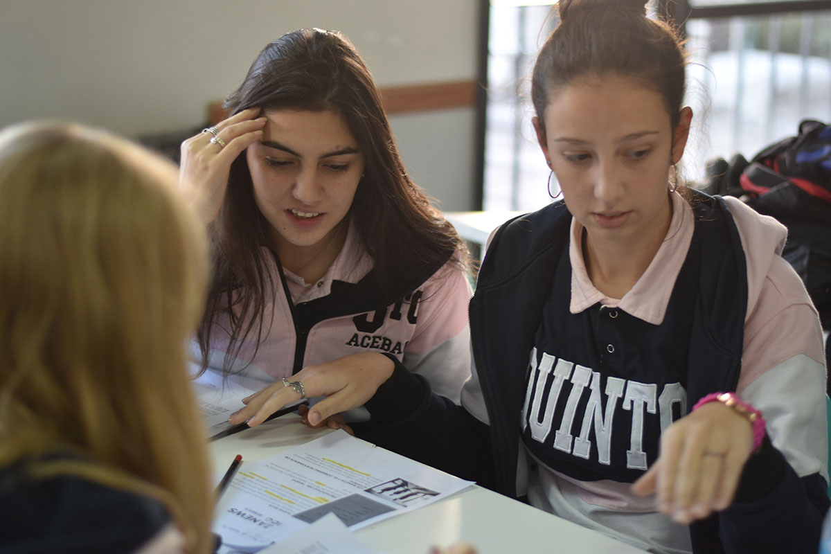 Estudiantes del Desafío Austral