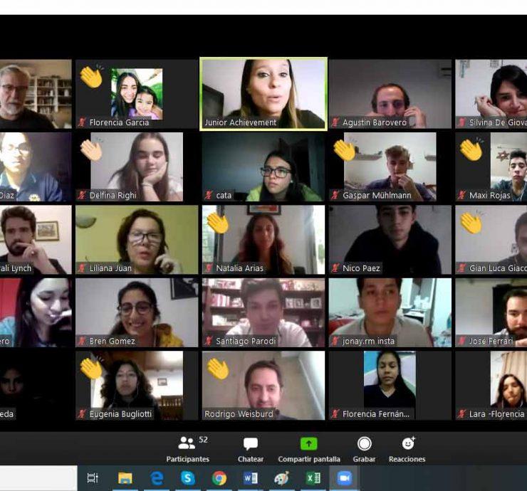 Innovation Camp Virtual en JA Santa Fe
