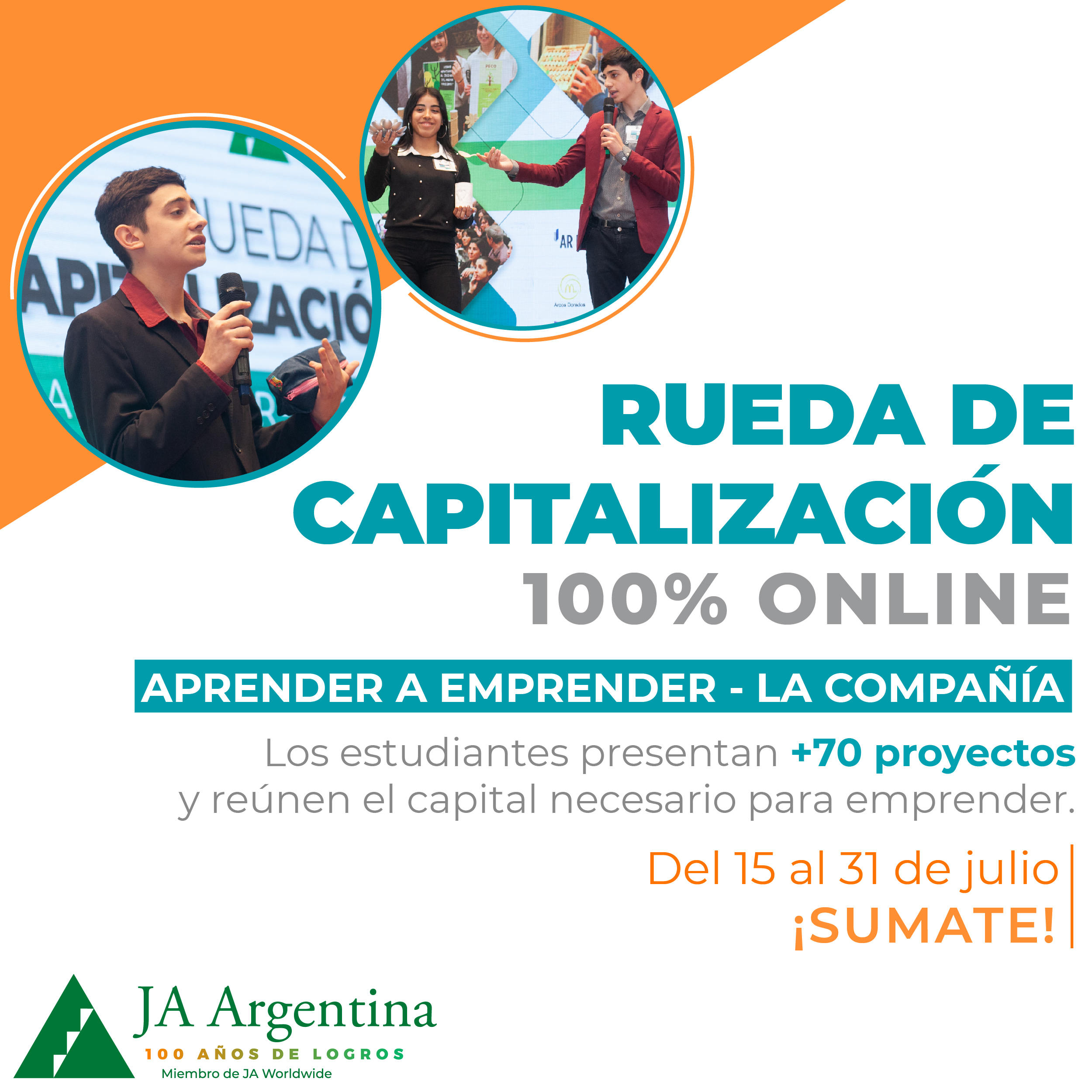 Rueda de Capitalización Online