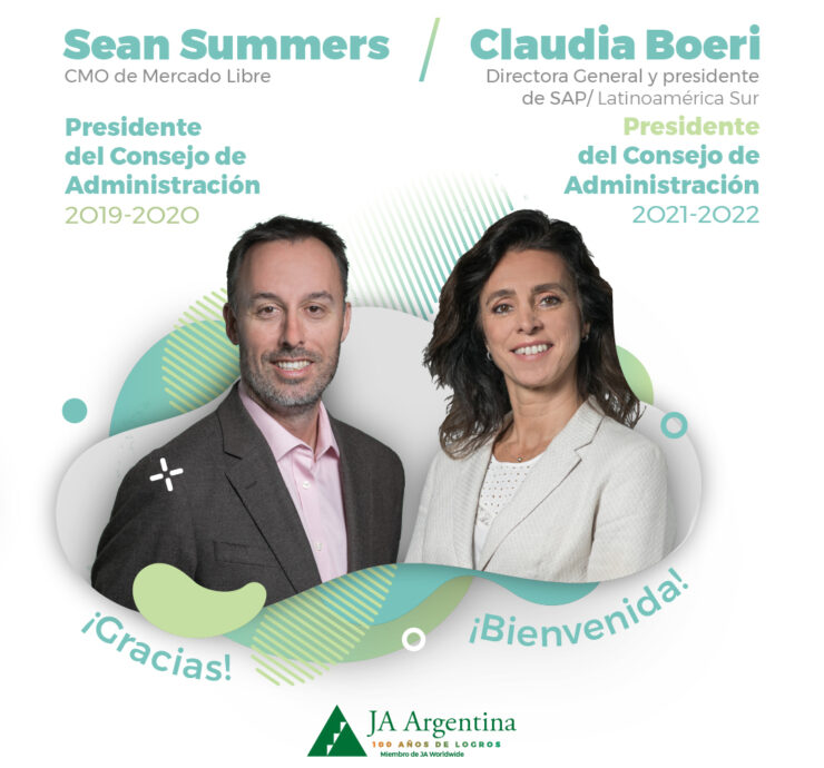 Sean Summers y Claudia Boeri